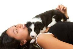 Amor de perrito Fotos de archivo