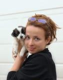 Amor de perrito Foto de archivo libre de regalías