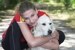 Amor de perrito Imágenes de archivo libres de regalías