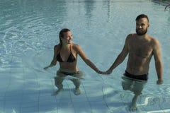 Amor del agua Fotos de archivo libres de regalías