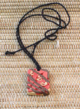 Amor del amuleto de la arcilla Imagen de archivo