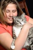 Amor del animal doméstico Imagen de archivo libre de regalías