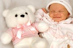 Amor del bebé Fotografía de archivo