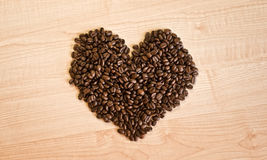 Amor del café Fotografía de archivo