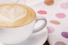 Amor del café del Latte Imagenes de archivo
