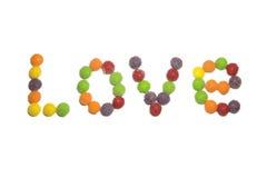 Amor del caramelo Foto de archivo libre de regalías