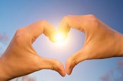 Amor del cielo Foto de archivo libre de regalías