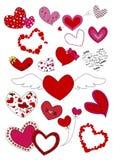 Amor del corazón 0f Ilustración del Vector