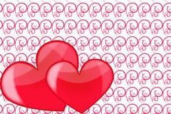Amor del corazón Fotos de archivo