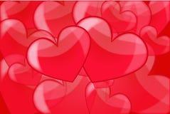 Amor del corazón Imagen de archivo libre de regalías