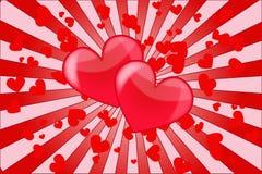 Amor del corazón Fotos de archivo libres de regalías