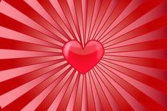 Amor del corazón Imágenes de archivo libres de regalías