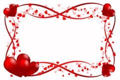 Amor del corazón del alcance Imagen de archivo libre de regalías