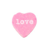 Amor del corazón del caramelo Fotos de archivo libres de regalías