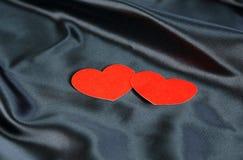 Amor del día de tarjeta del día de San Valentín Fotografía de archivo libre de regalías