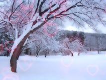 Amor del invierno libre illustration
