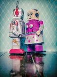 Amor del robot Imagenes de archivo