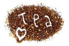 Amor del té Foto de archivo libre de regalías