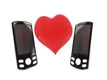 Amor del Telco Fotografía de archivo libre de regalías