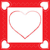 Amor del vector Foto de archivo libre de regalías
