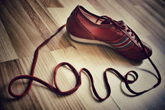 Amor del zapato Fotos de archivo
