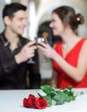 Amor. Dia de Valentim fotografia de stock royalty free