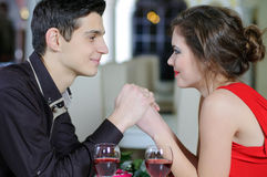Amor. Dia de Valentim Fotos de Stock Royalty Free