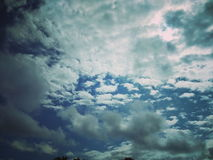 Amor do céu da natureza bonito Foto de Stock