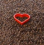 Amor do café Fotografia de Stock Royalty Free