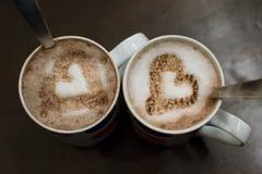 Amor do café Imagens de Stock Royalty Free