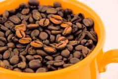 Amor do café fotografia de stock