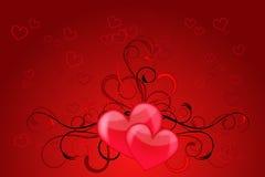 Amor do coração Foto de Stock