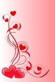 Amor do coração Fotos de Stock
