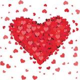 Amor do coração Fotografia de Stock Royalty Free