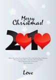 Amor do Feliz Natal Ilustração Royalty Free
