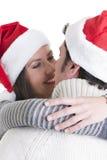Amor do Natal foto de stock