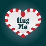Amor do Natal - abrace-me Imagem de Stock Royalty Free