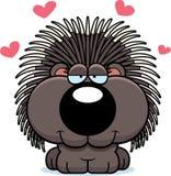 Amor do porco- dos desenhos animados Imagem de Stock