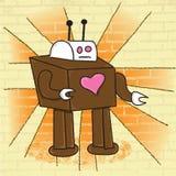Amor do robô ilustração stock