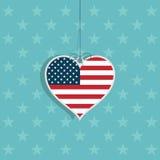 Amor dos EUA Imagens de Stock