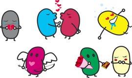 Amor dos Valentim Foto de Stock Royalty Free