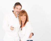 Amor e alegria em 50 fotografia de stock royalty free
