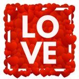 Amor e corações Fotos de Stock Royalty Free