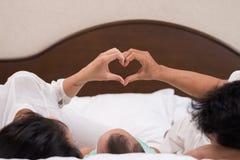 Amor e cuidado Imagens de Stock