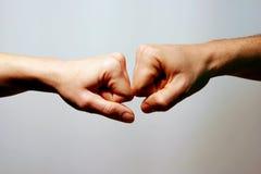 Amor e cumplicidade Fotografia de Stock
