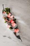 Amor e flores Imagem de Stock