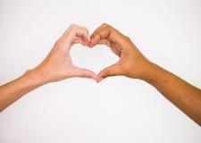 Amor e junto Imagens de Stock