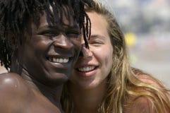 Amor e pares felizes Imagem de Stock Royalty Free
