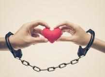 Amor e romance no dia do ` s do Valentim foto de stock