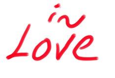 Amor el día de tarjetas del día de San Valentín imagen de archivo libre de regalías